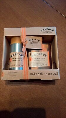 Fat Face mens' toiletries gift set. Brand new and boxed