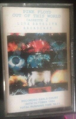 Pink Floyd.double Cassette.out Of This World.live Satelite Broadcast..20/10/1994