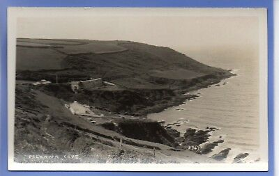 Old Vintage Rp Postcard Polhawn Cove Cornwall