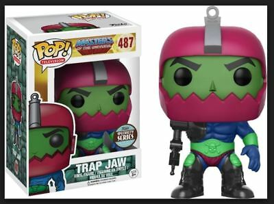 Funko Pop! TRAP JAW specialty series Master of the universe w free protector