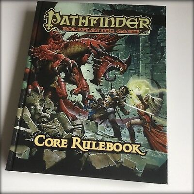 Pathfinder Fantasy Roleplaying Game - Core Rulebook (Hardcover) 6th Printing.New