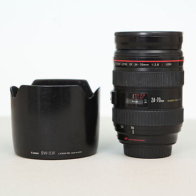 Canon EF 24-70mm f/2.8 L Mark I USM - used but in mint state