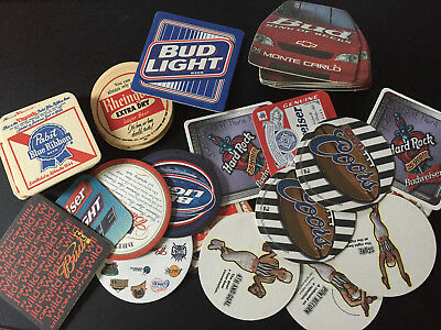 Beer Bar Coaster  Lot of 50+  Pabst Reingold Bud Coors