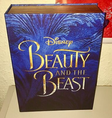 Disney's 2016 Beauty And The Beast Box Premiere Gift Box With Rose Mirror✨