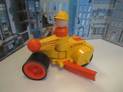 Fisher Price Hafty Road Roller Grader #313 Construction