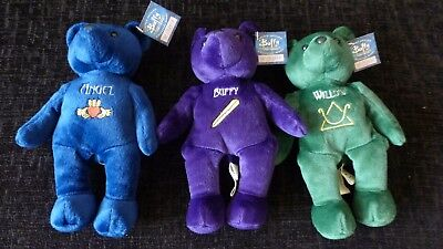 Buffy the Vampire Slayer collectible Bears Set Of 3  ** Limited edition **