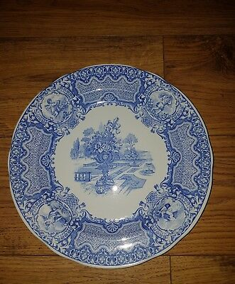 Spode 'Blue Room Collection' plate 'Seasons'