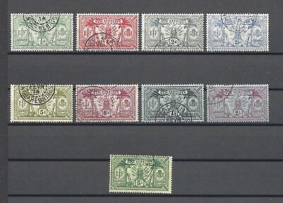 NEW HEBRIDES 1911 SG 18/28 USED Cat £100