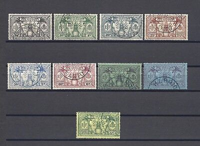 NEW HEBRIDES 1925 SG 43/51 USED Cat £120