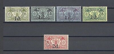 NEW HEBRIDES 1920-21 SG 30/4 USED Cat £121