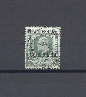 NEW HEBRIDES 1908 SG 4 USED Cat £85