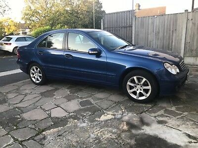 Mercedes C180 classic auto Blue 2006/2007 electric issues
