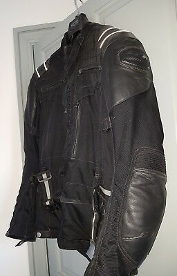 Hein Gericke Goretex Leather & Textile Motorcycle Jacket & Trouser Suit