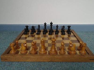 Antique Chess Set ,pieces Only