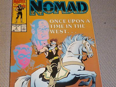 Nomad #2 (Dec 1990, Marvel)
