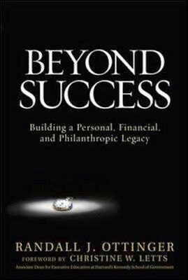 NEW Beyond Success: Building A Personal, Financial, And... BOOK (Hardback)