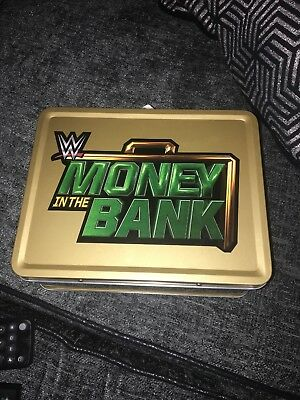 wwe money in the bank briefcase Lunchbox
