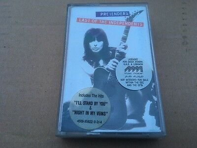The Pretenders - Last Of The Independents - Cassette Tape - Wea