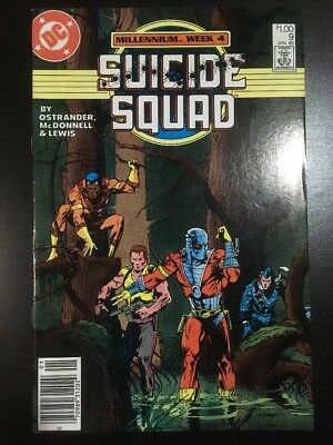 SUICIDE SQUAD #9 (DC 1987 Series) Canadian Variant VF- 7.5 Grade