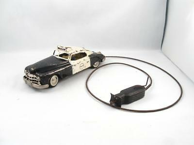Vintage Arnold Western Germany Tin Police Car Toy
