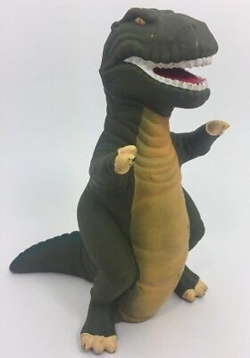Vintage 1988 Land Before Time T-Rex Sharptooth Vinyl Puppet Amblin Pizza Hut HTF
