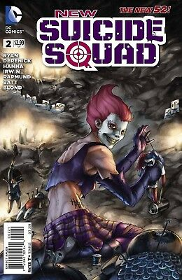 New Suicide Squad #2 Meghan Hetrick 1:25 Variant New 52