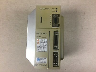 Yaskawa SGDA-08AS Servopack Single Phase
