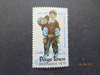 No--1--1975  BOYS  TOWN   NEBRASKA  STAMP  ISSUES --GREAT  ISSUE