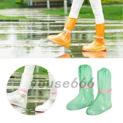 PVC Cycling Shoe Cover Waterproof Windproof Softshell Outdoor Bicycle Overshoe