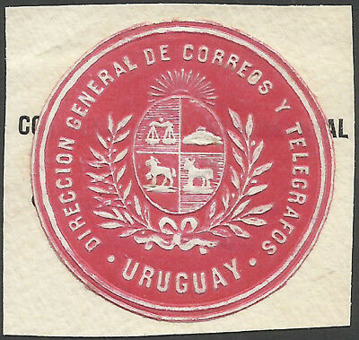 Uruguay Director General Of Posts And Telegrapghs Label