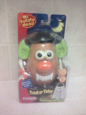 Playskool Mr Potato Head Trick Or Tater With Ghost Costume Glow In The Dark Eyes