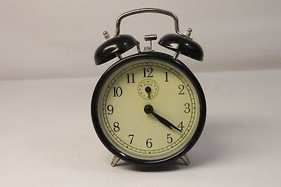 Alarm clock, mechanical,two bells,working condition.(ref A116)