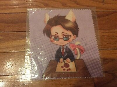 Guilt Pleasure Yaoi In These Words Asano Katsuya microfiber cloth new 6 inches