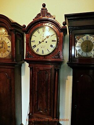 A Longcase Clock, 8 Day, George Black Circa 1830, Good Quality, Lovely Condition