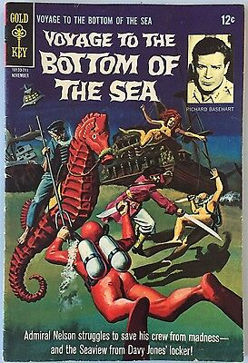 Voyage To The Bottom Of The Sea - Comic Book #10 (Gold Key, 1967)