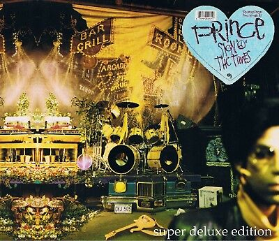 Prince - Sign O' The Times 30th Anniversary Remaster 3-CD/Blu-ray w/Concert Film