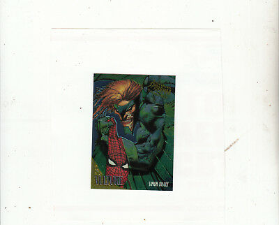 Fleer Ultra Spider-Man-[Chromium Golden Web 9 of 9 ]-1995 Marvel-Lot11-Cards