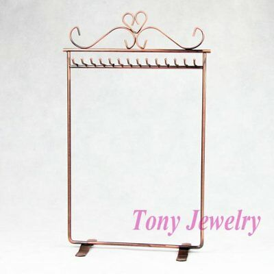 Copper Necklace Rack - Super Quick Free Shipping