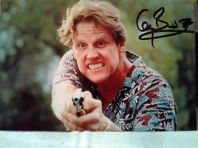 Gary Busey Authentic Hand Signed Autograph 4X6 Photo