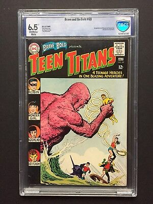 Brave And The Bold 60 CBCS 6.5 First Wonder Girl