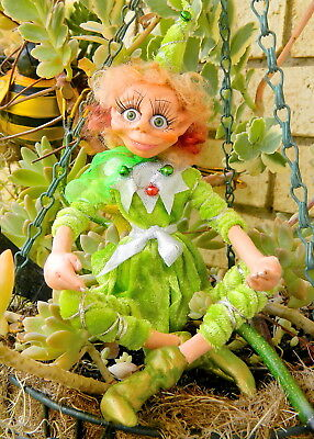 Branbria Christmas Elves, Pixies, Witches & Fairies ~ OOAK Doll Hand Sculpture