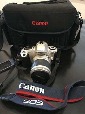 Canon EOS 300 28-90mm Film Camera With Bag Great Starter Gift!