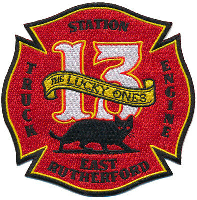 East Rutherford New Jersey Fire Dept. 13 Fire Patch
