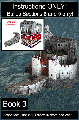 CUSTOM Lord of the Rings Helm's Deep BOOK 3 Ult. Build (lego Instructions Only!)