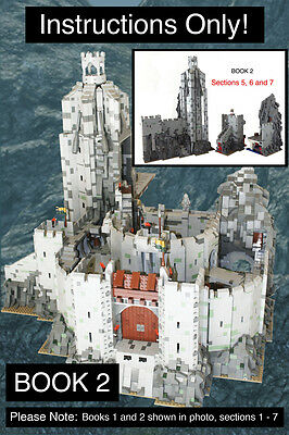 CUSTOM Lord of the Rings Helm's Deep BOOK 2 Ult. Build (lego Instructions Only!)