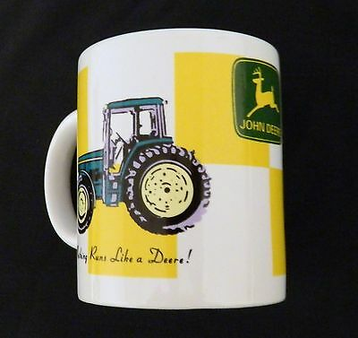 John Deere Licensed Product Coffee Cup Mug Gibson