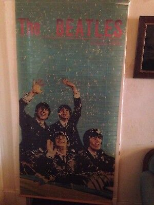 Vintage The Beatles 1964 Venetian  Blind Very Rare Attention Beatlemaniacs!