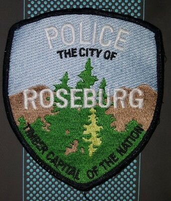Patch ~ Oregon OR City of Roseburg Police Timber Capital of the Nation