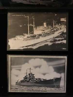Lot of 23 Antique & Vintage Ship Post Cards Cruise Ships Military