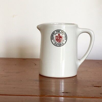 Rare BRISTILE Country Fire Authority VIC CFA Branded Jug Vintage Hotelware